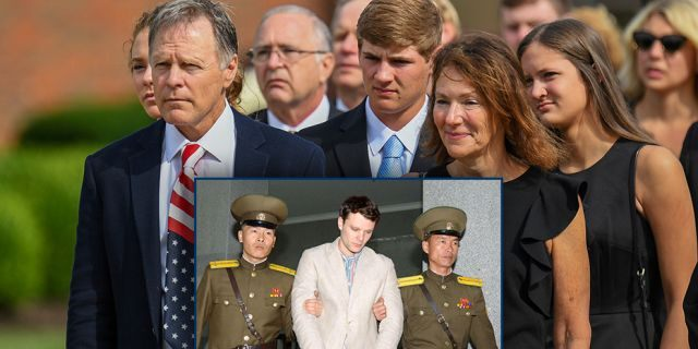 """Fred and Cindy Warmbier — Otto Warmbier's parents— have filed a claim for a seized North Korean cargo ship to satisfy part of their $500 million judgment against the North Korean regime over the death of their son.<br data-cke-eol=""""1"""">"""