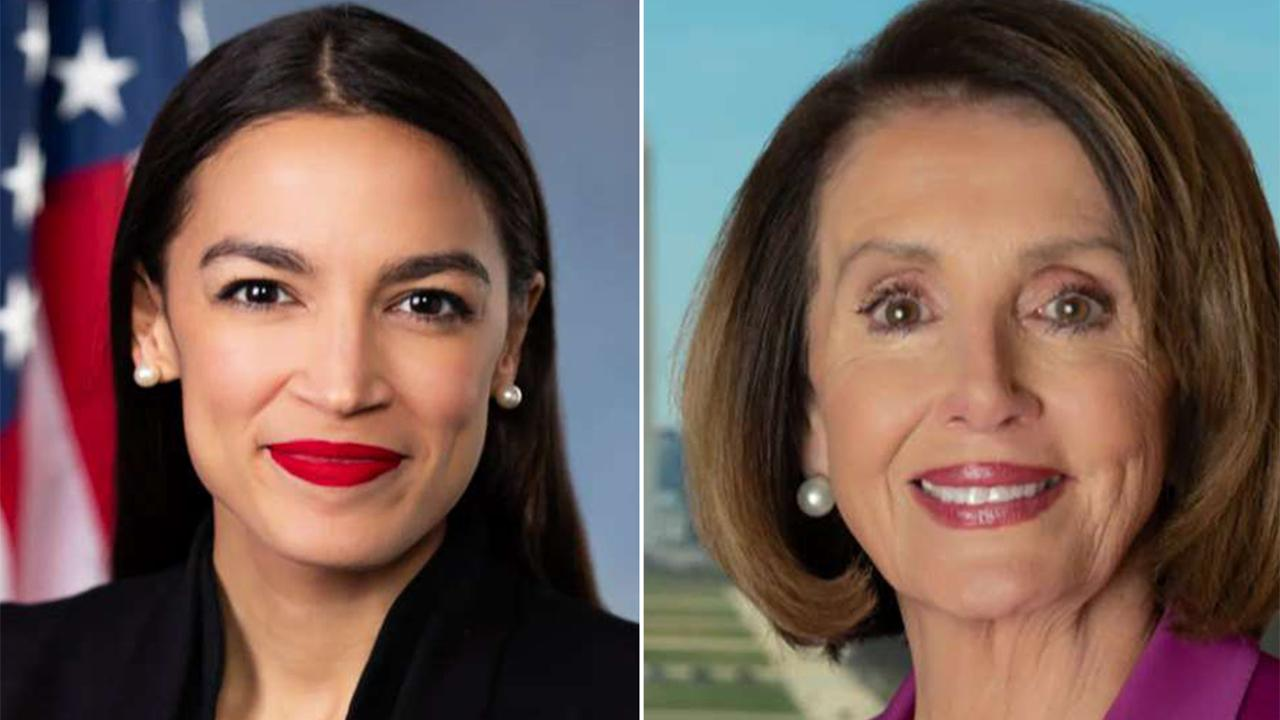 Pelosi responds to AOC slam, says caucus has her back for condemning chief of staff's 'offensive' tweet