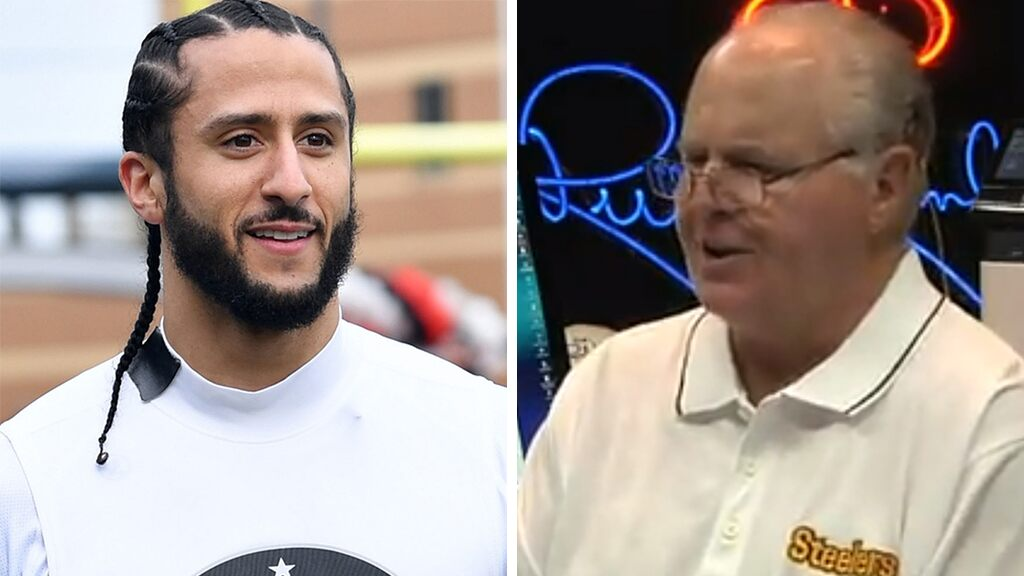 Rush Limbaugh: Left 'scared out of their wits' about Trump July 4 parade, Kaepernick 'fooled everybody'