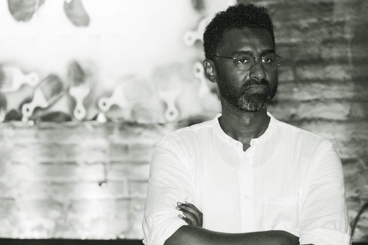 Sudanese political cartoonist Khalid Albaih is the first recipient of the Freedom artist's residency