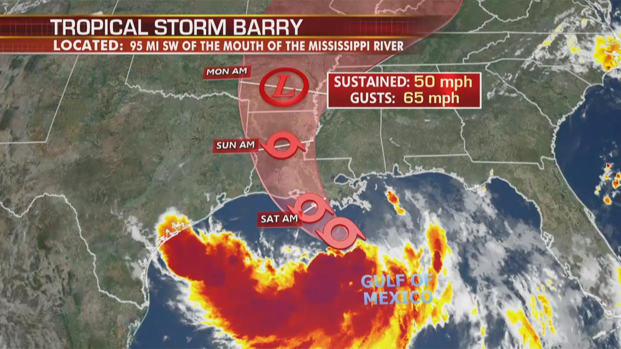 Tropical Storm Barry prompts storm surge, flood warnings: Why is New Orleans at an increased risk?