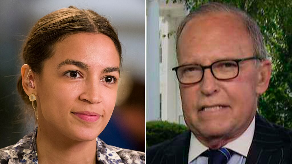 Trump economic adviser Larry Kudlow: Hats off to AOC, she 'nailed' her questions to Fed chair