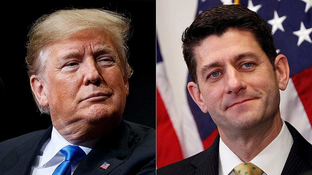 Trump trashes 'lame duck failure' Paul Ryan in response to new criticisms