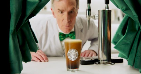 What Is Nitro Cold Brew? Starbucks and Bill Nye School You on Today's Trendiest Coffee – Adweek