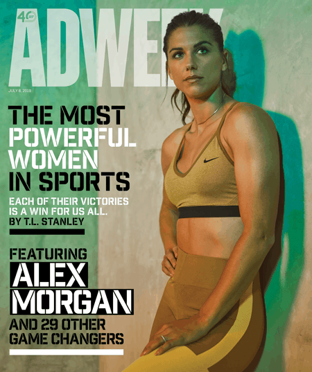 Why U.S. Women's Soccer Star Alex Morgan Won't Settle for Anything Less Than Equality – Adweek