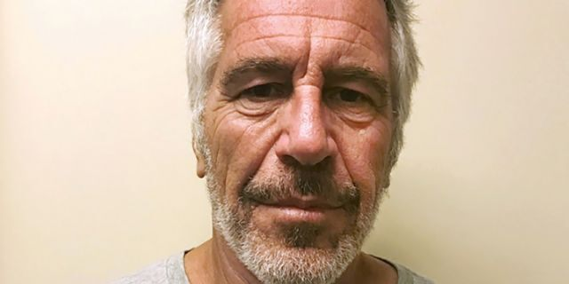 This March 28, 2017, file photo, provided by the New York State Sex Offender Registry shows Jeffrey Epstein. Epstein has died by suicide while awaiting trial on sex-trafficking charges, says person briefed on the matter, Saturday, Aug. 10, 2019. (New York State Sex Offender Registry via AP, File)