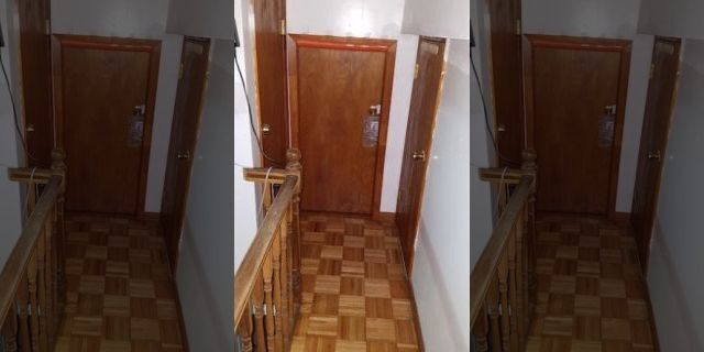Landlords in a New York apartment building illegally converted small apartments into multiunit pads with ceilings as low as 4 1/2 feet high.