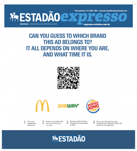 3 Fast-Food Chains Are Serving Customized Ads to Consumers Via Print – Adweek