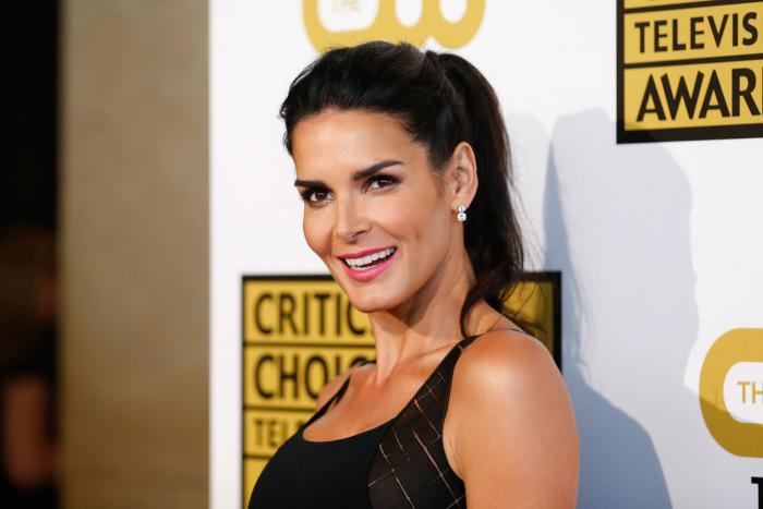Angie Harmon shares throwback modeling picture: 'I dare y'all to bring the banana clip back'