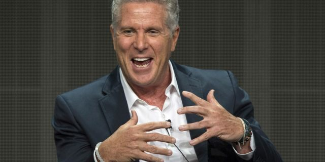 Donny Deutsch speaks during the Television Critics Association Cable Summer Press Tour in Beverly Hills, Calif., Aug. 12, 2015. (Reuters)