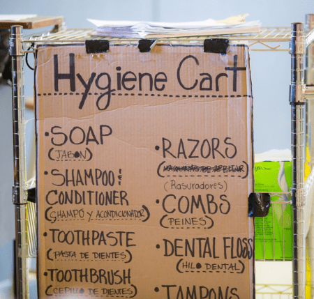 thrive dc toiletry cart