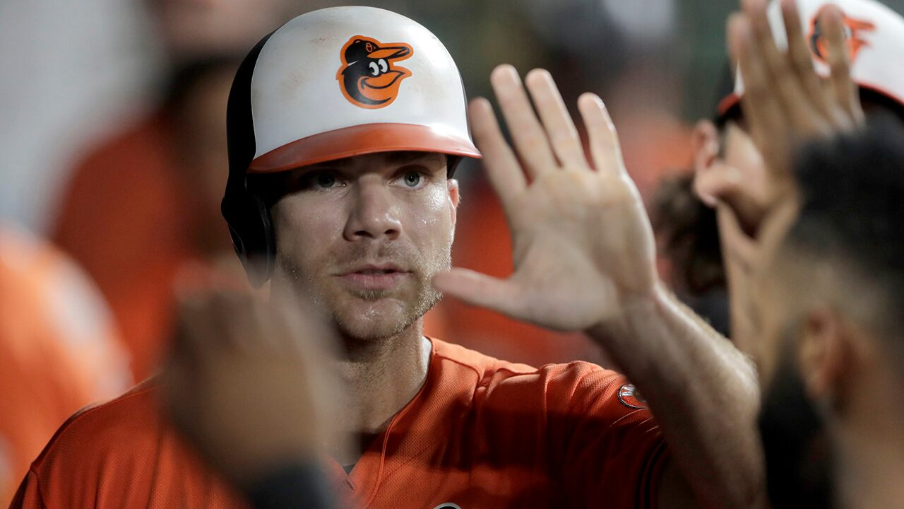 Baltimore Orioles' Chris Davis needs to be held back in dugout spat with manager Brandon Hyde