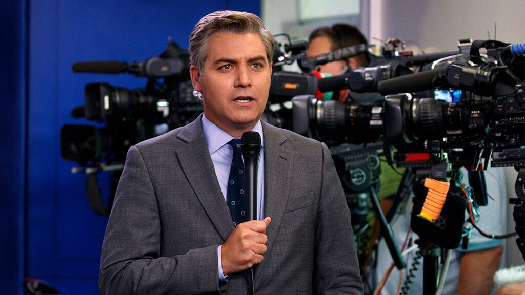 CNN's Jim Acosta blasts Trump for ignoring his question about climate change