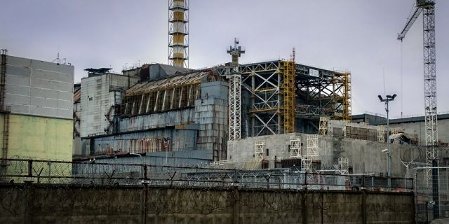 The ruined no. 4 reactor of Chernobyl nuclear power plant in 2016 (iStock)