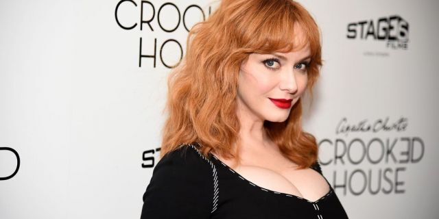 """Christina Hendricks attends the """"Crooked House"""" New York Premiere at Metrograph on December 13, 2017 in New York City. (Getty Images)"""