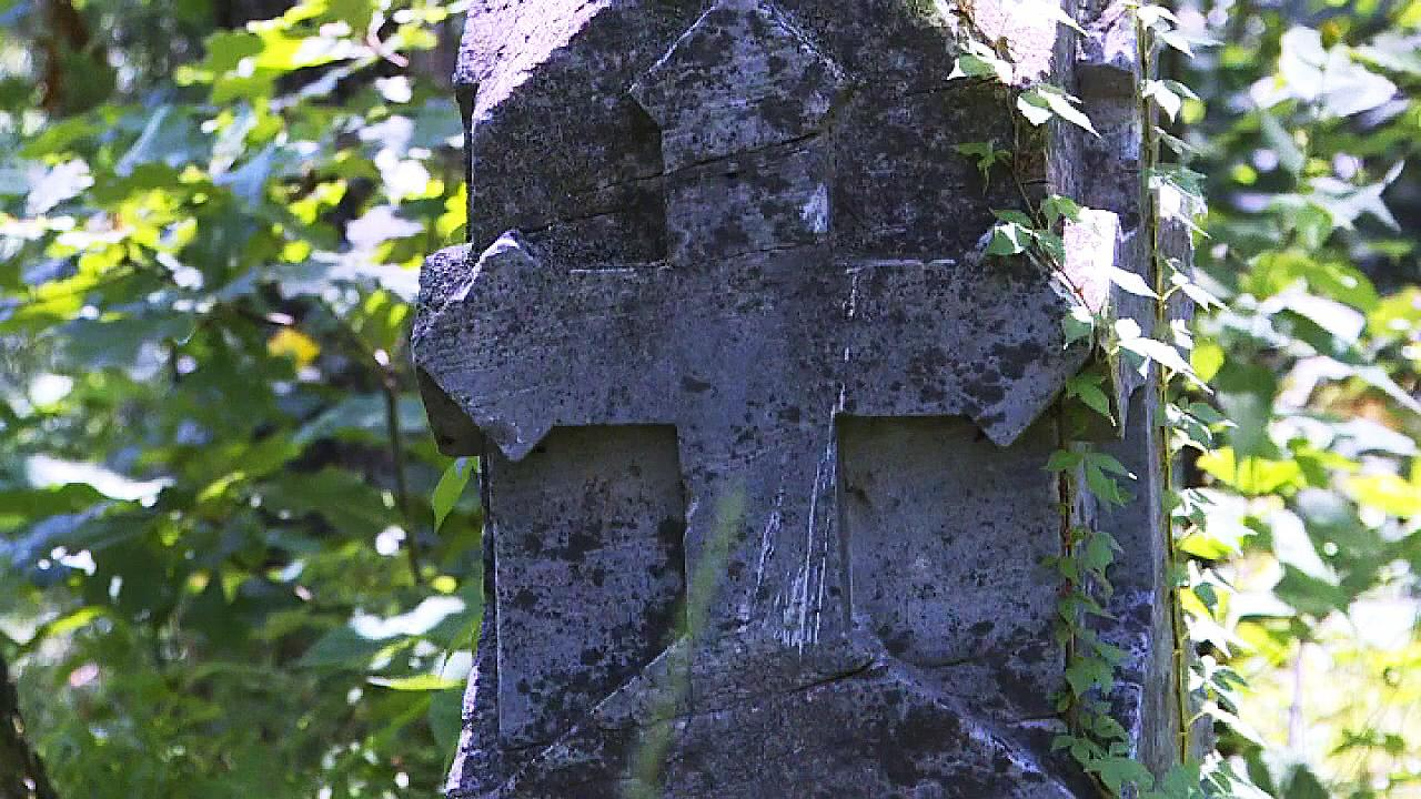 Civil War-era gravestone linked to infamous Quantrill's raid discovered in forest