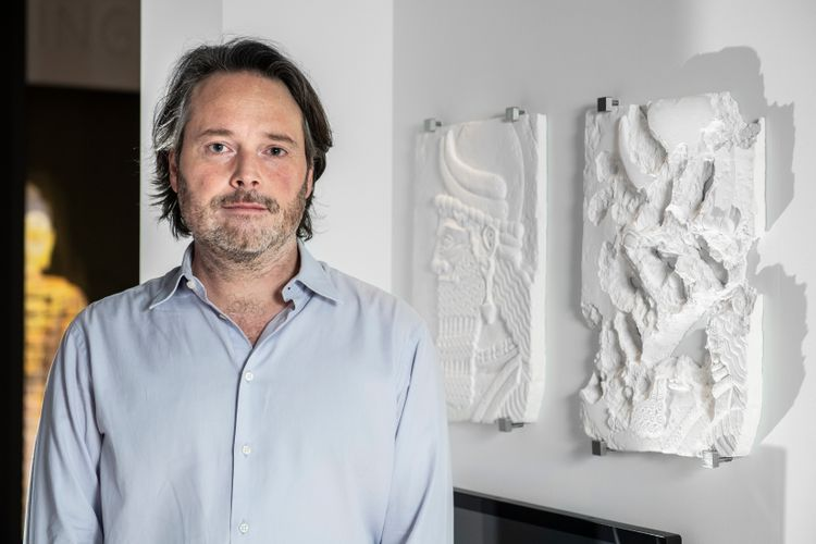 Drawing with the ashes of Isis-ravished buildings: Piers Secunda on the art of destruction