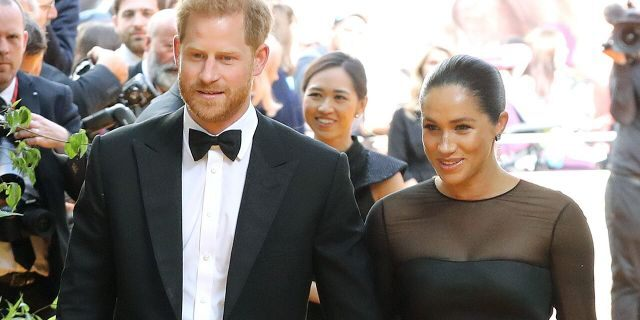"""Prince Harry, Duke of Sussex and Meghan, Duchess of Sussex attend """"The Lion King"""" European Premiere"""