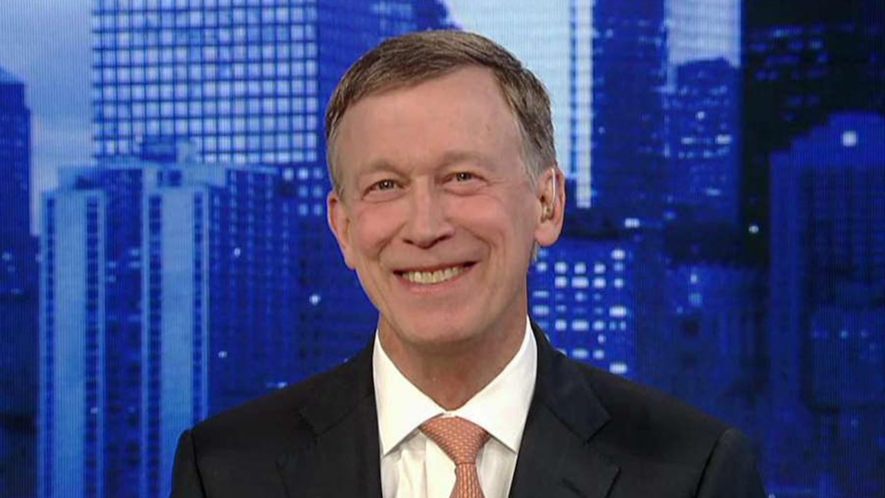 Hickenlooper: I don't believe 'in the pathway' of the more progressive Dems