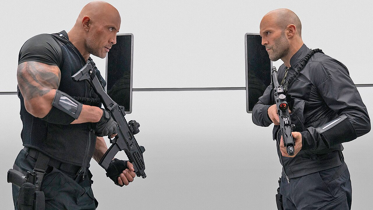 'Hobbs & Shaw' races into top spot at box office