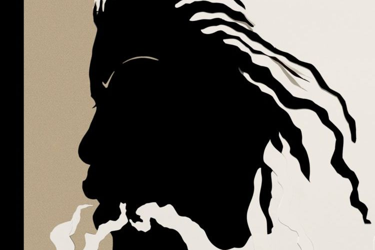 In homage: Kara Walker's silhouette of Toni Morrison for The New Yorker