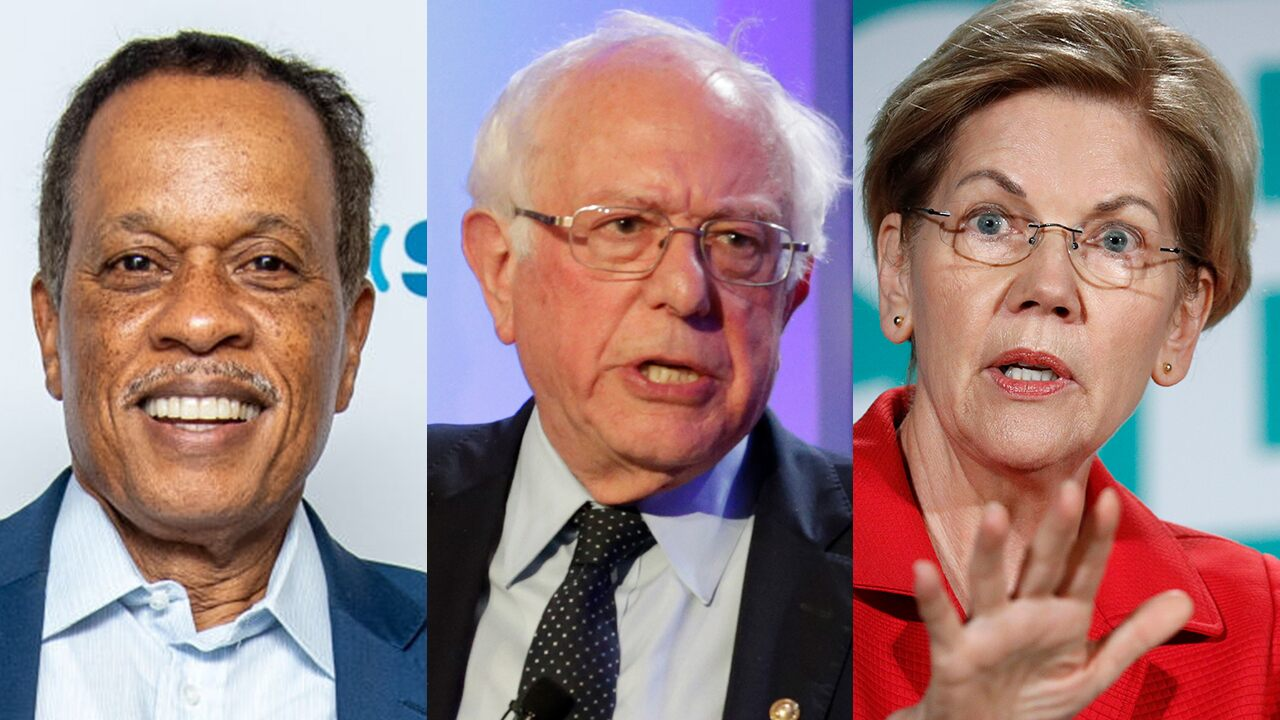 Juan Williams: Elizabeth Warren 'clearly the person with momentum' in Dem race; Bernie Sanders 'falling'