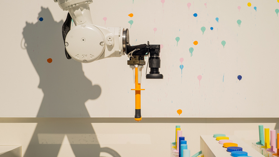 Leave Your Mark on Bombay Sapphire's Crowdsourced Art Project by Guiding a Robot Arm – Adweek