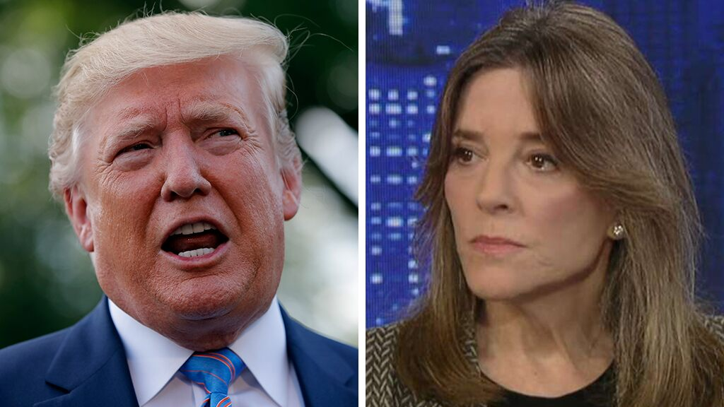 Marianne Williamson: Trump 'fanned flames' of white supremacy, but 'unfair' to say he is directly responsible for El Paso, Dayton shootings