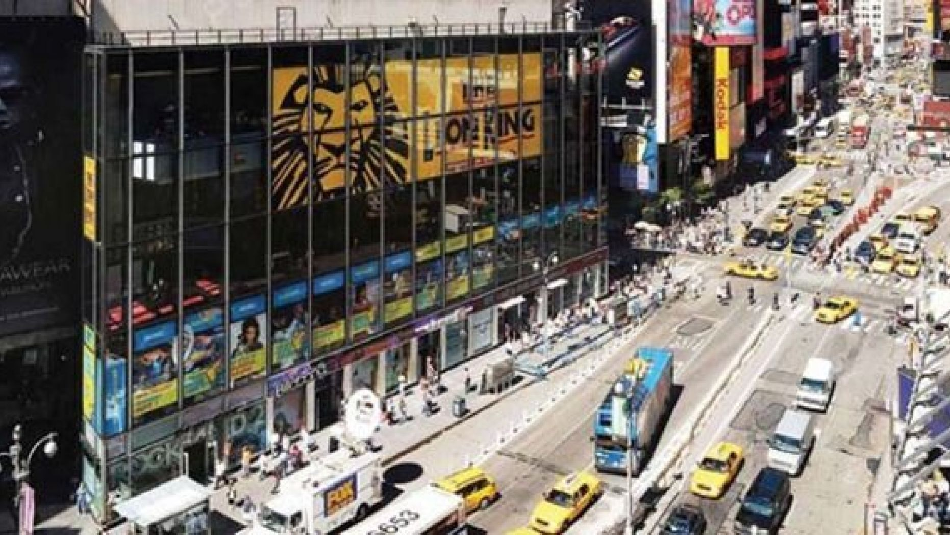 New York City street in Times Square. (Photo: NYC.gov)
