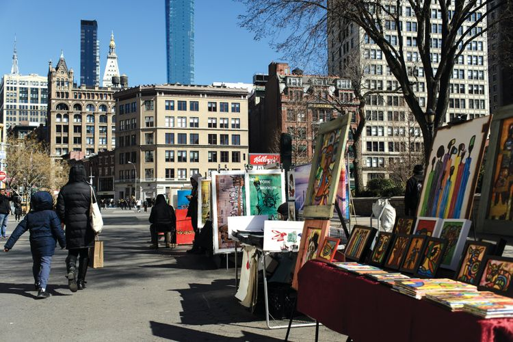 Number of Manhattan's park art vendors can be limited by New York City, court rules