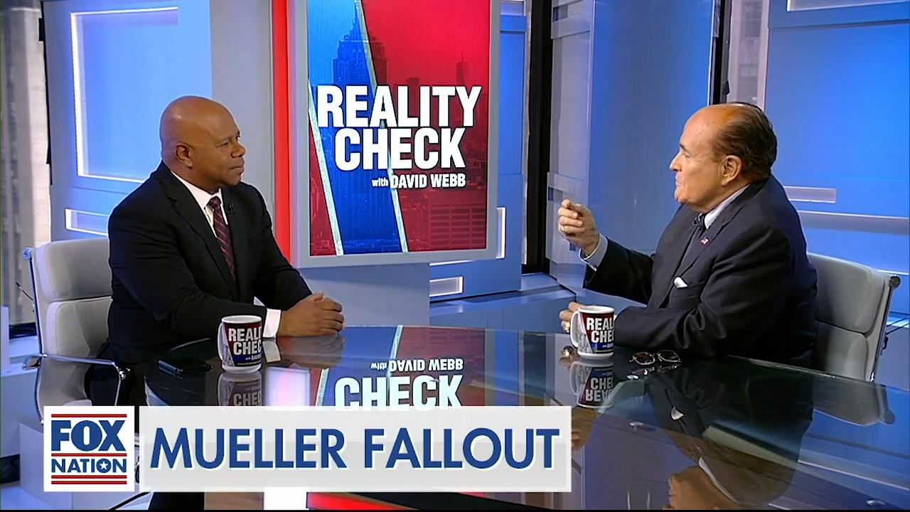 Rudy Guliani: 'Inmates were running the asylum' because Mueller couldn't handle probe
