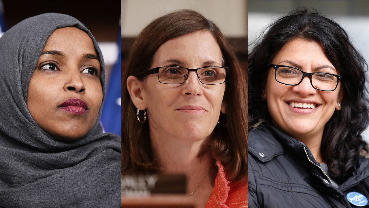 Sen. McSally blasts Omar, Tlaib's 'dangerous' rhetoric and actions, calls on US to stand with Israel