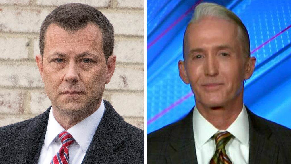 Trey Gowdy: Peter Strzok has no one to blame but himself
