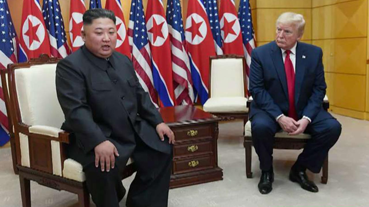 Trump says he received 'small apology' from Kim Jong Un for missile tests