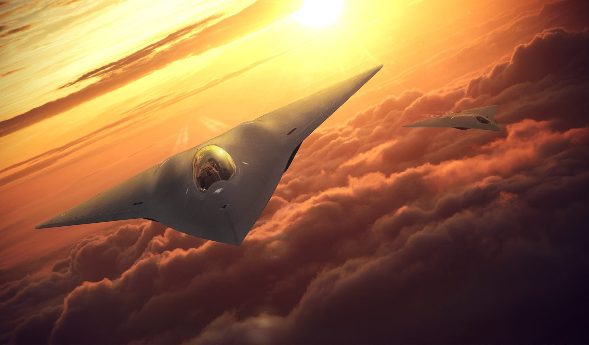 Air Force prototypes 6th-generation future stealth fighters