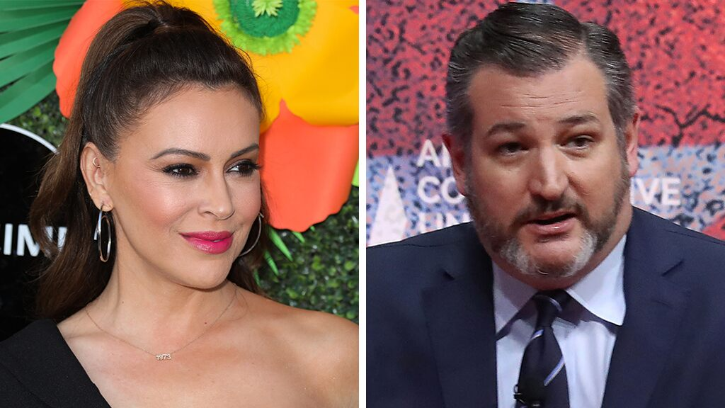 Alyssa Milano praises meeting with Ted Cruz, says she's 'cautiously optimistic' for gun reform