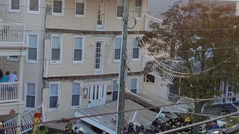 At least 22 people injured after three-story deck collapse in New Jersey