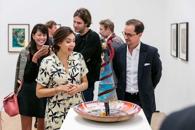 Canoodling Calypsos and colonial critiques at opening of David Zwirner's new Trinidadian show