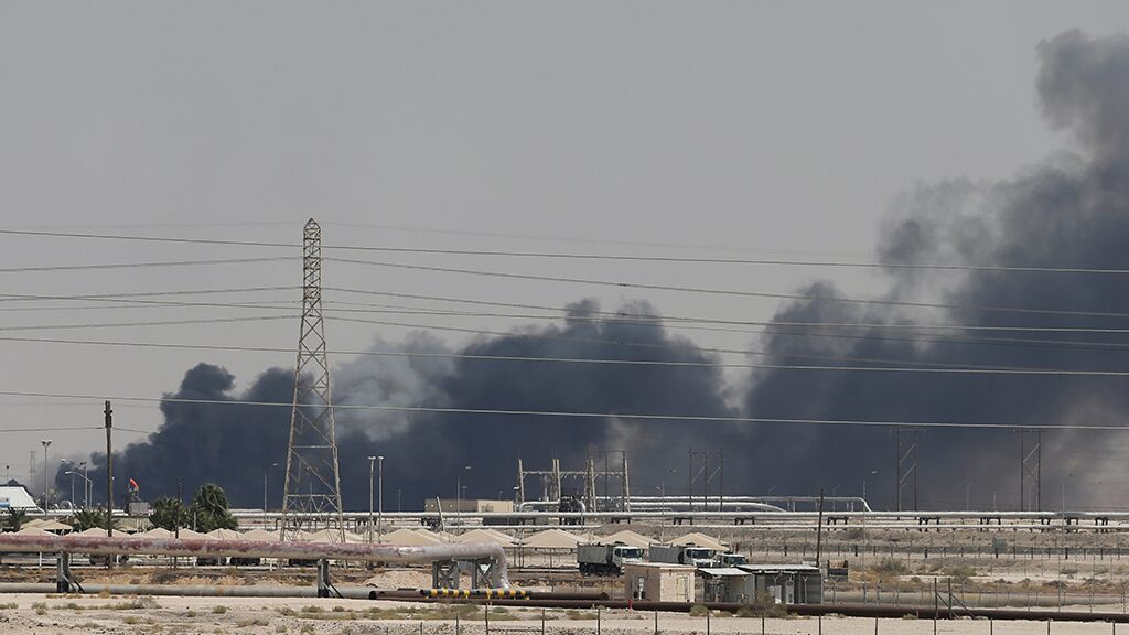 Drone strikes target world's largest oil processing facility, Saudi oil field; attack claimed by Iranian-backed rebels