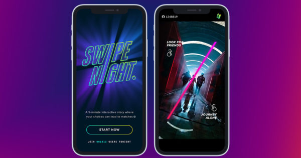 Even Tinder Is Getting Into the Original Content Business With Swipe Night – Adweek