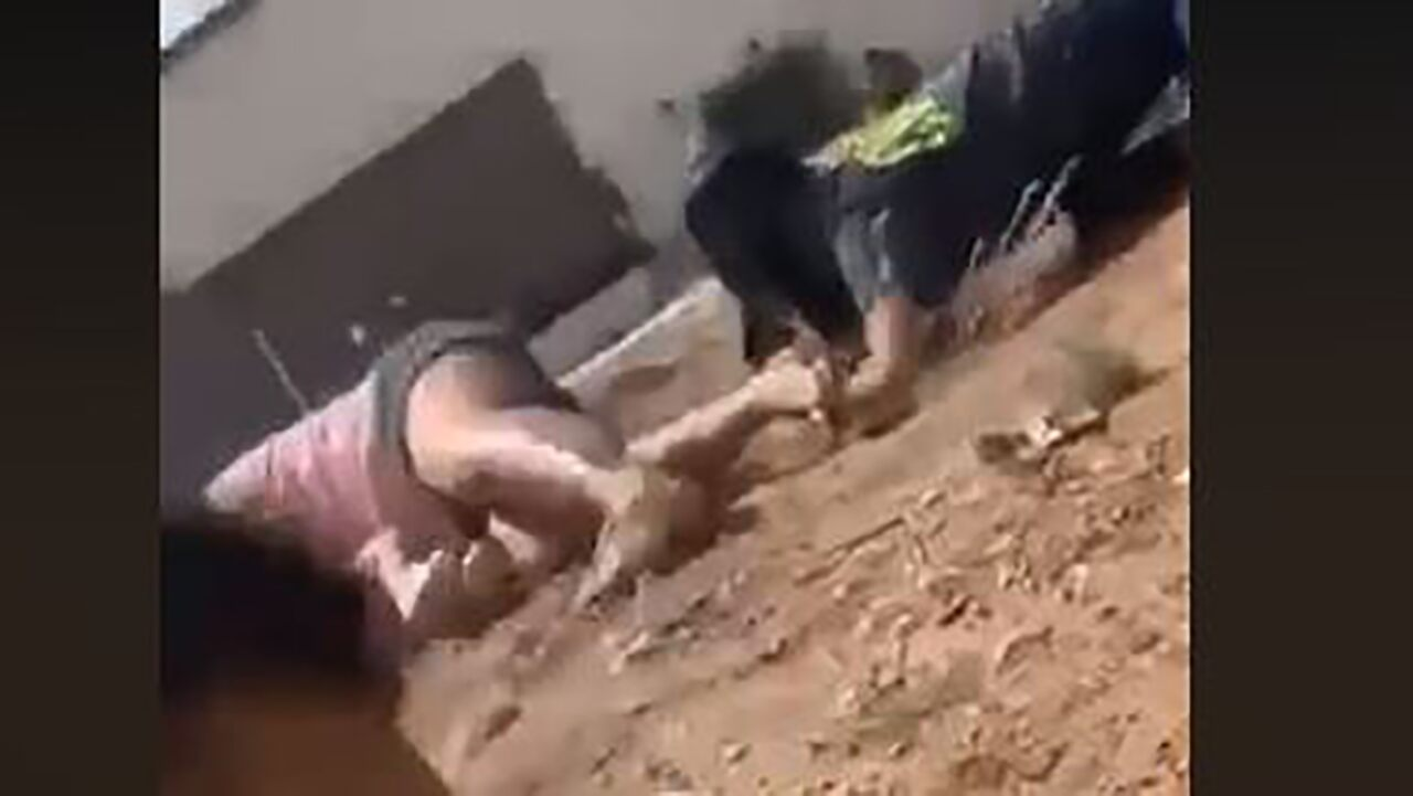 FRIGHTENING VIDEO: Family, others appear to take cover during Texas shooting