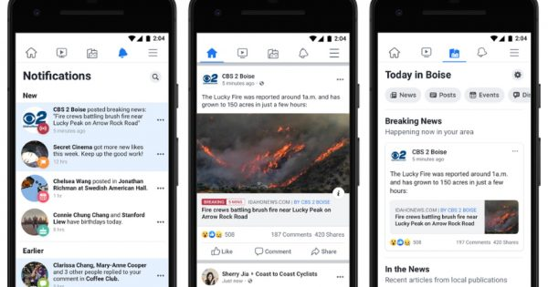Facebook's Today In Local News Feature Expands to Some 6,000 U.S. Cities – Adweek