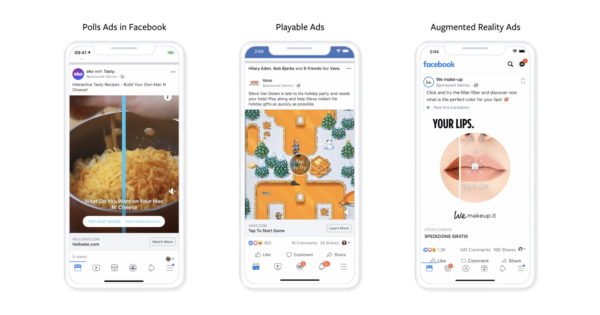 Facebook Details 3 New Interactive Ad Options – Adweek