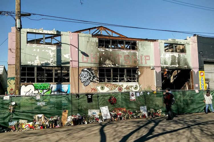 Families express frustration over trial outcome in California's Ghost Ship fire