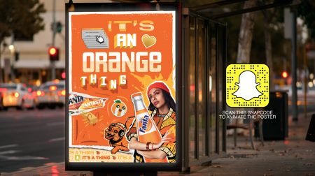 Fanta Taps Snapchat's Marker Tech AR Lenses for Its 'It's a Thing' Campaign – Adweek