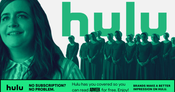 For One Day, Hulu Is Picking Up the Tab for Adweek Readers – Adweek