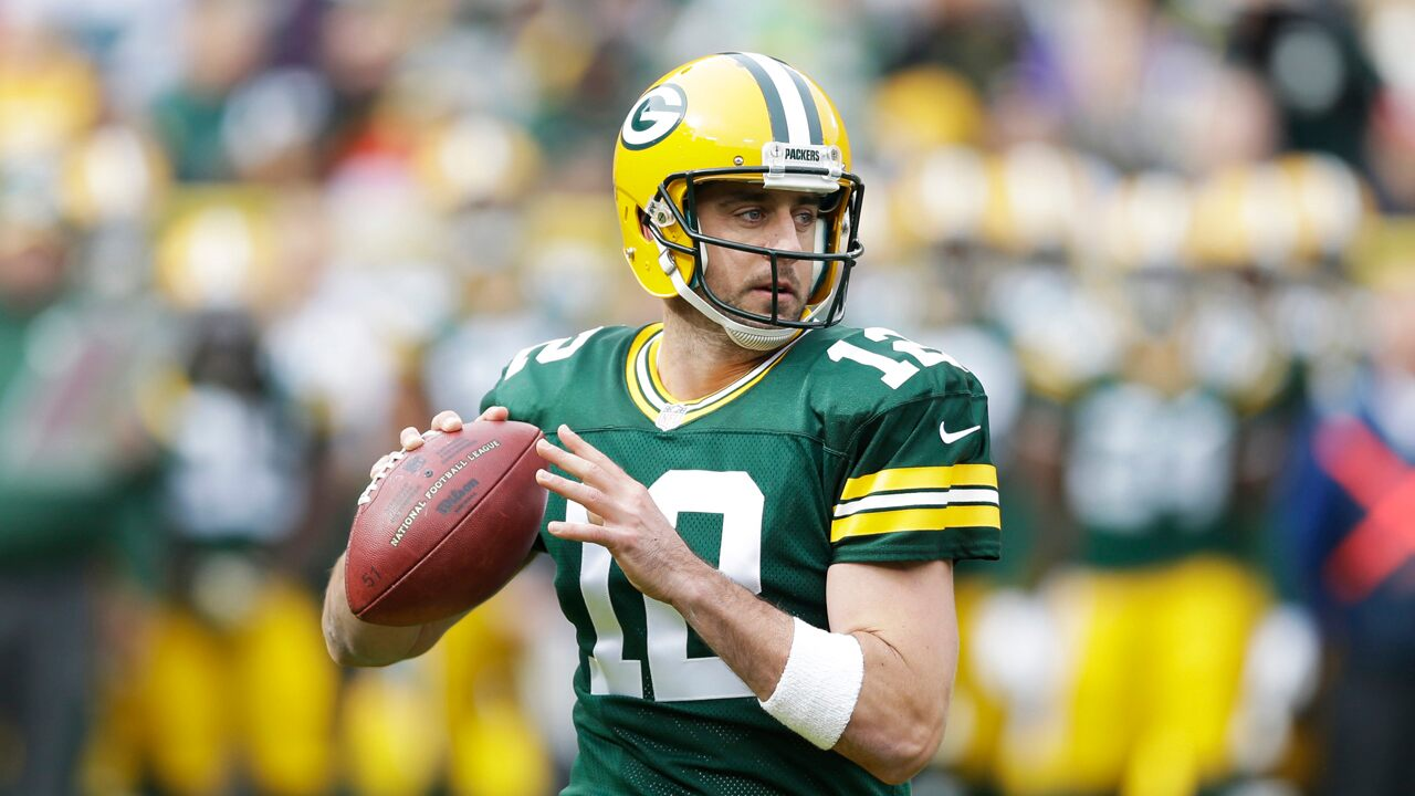 Green Bay Packers' Aaron Rodgers donates helmets to high schools hit by 2018 wildfires