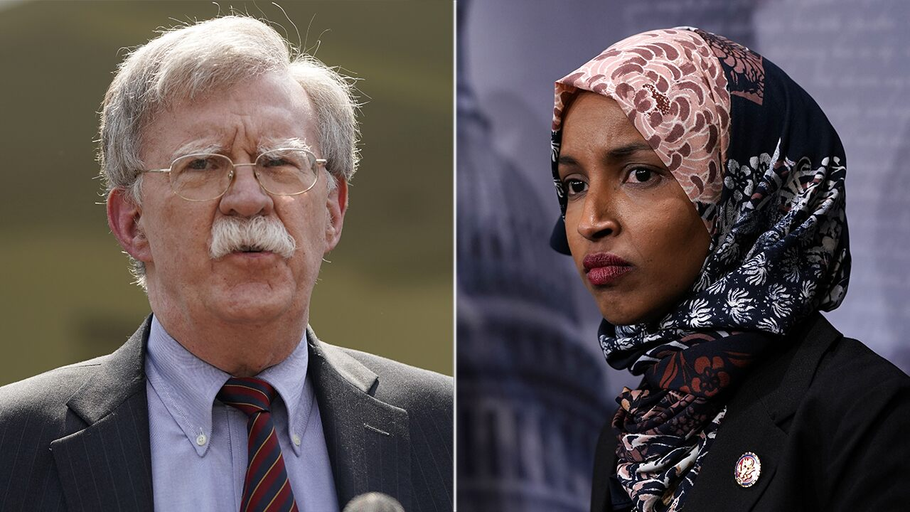 Ilhan Omar says 'good riddance' after Bolton resignation, claims he made world 'more dangerous'