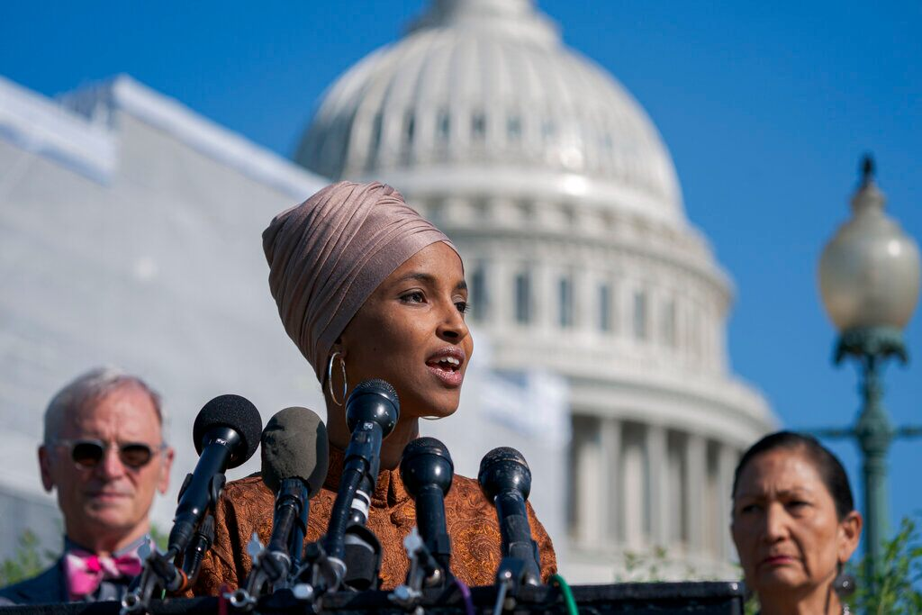 Ilhan Omar says she's controversial only because 'people seem to want the controversy'