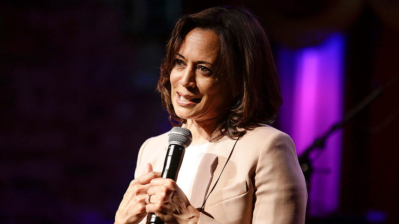Kamala Harris insists she's still a 'top tier' 2020 contender; claims Trump has 'debased' the presidency